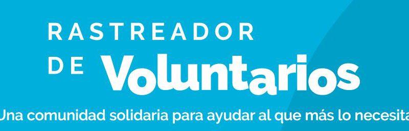 INICIATIVA SOLIDARIA. RASTREADOR DE VOLUNTARIOS rastreator