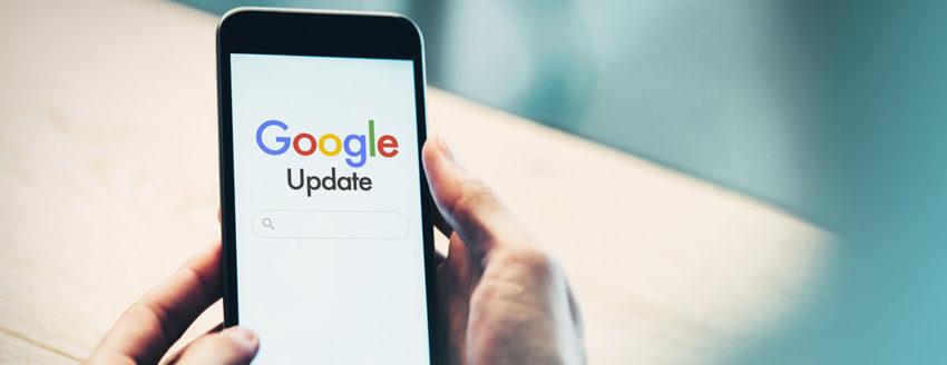actualización del algoritmo de google mayo 2020