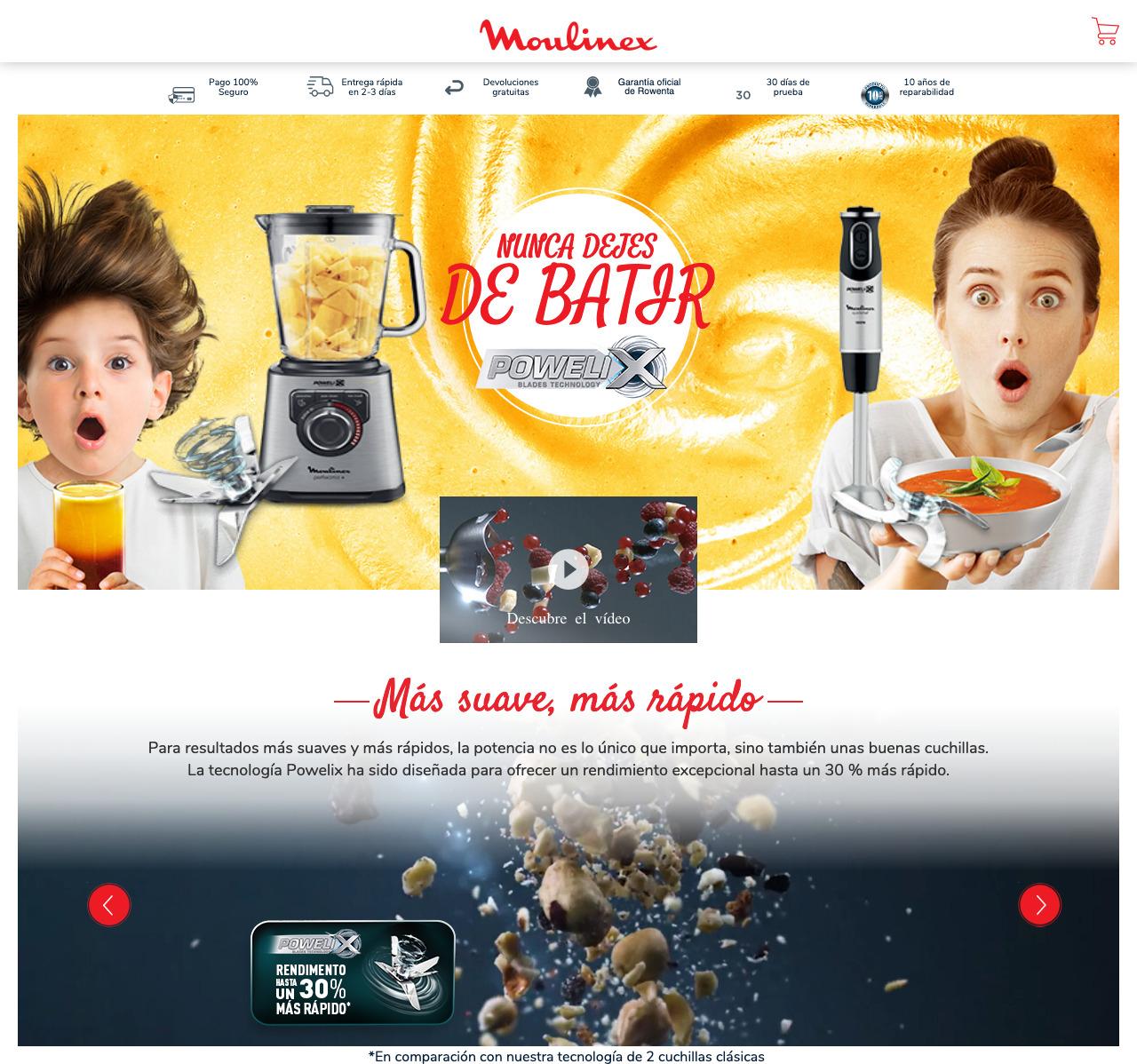 Ejemplo de multi-tienda con Magento 2 Web Rowenta