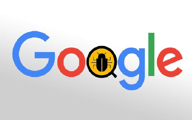 bug buscador google 10/08