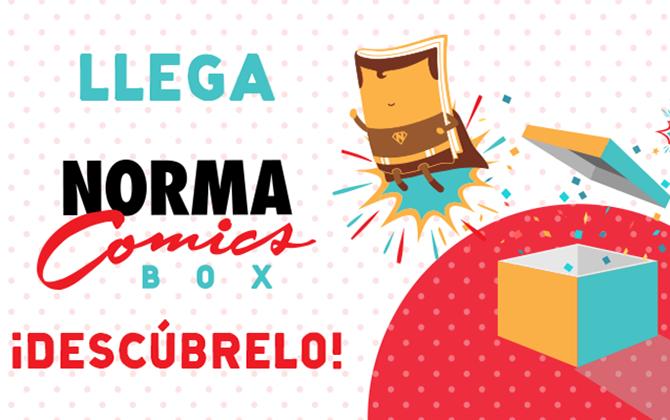 norma comics box