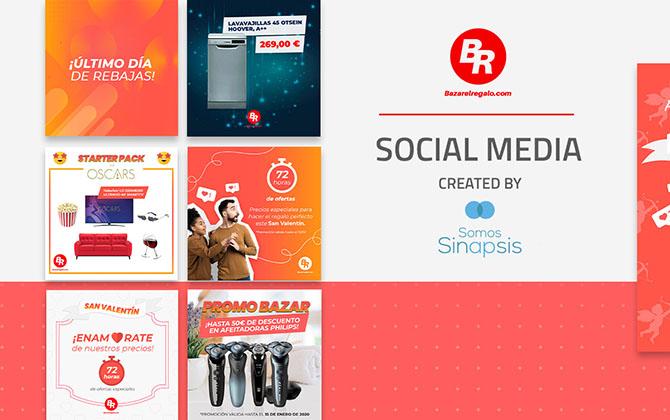 bazar el regalo - sinapsis social ads